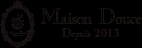 パティスリー メゾンドゥース Maison Douce ロゴ